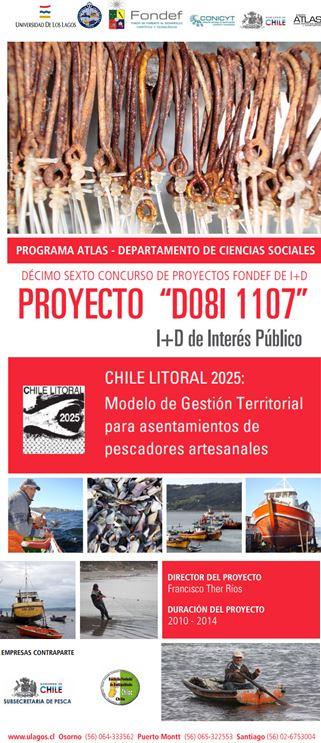 Afiche Chile litoral