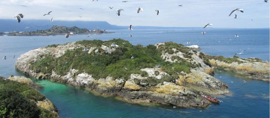vista a las islas
